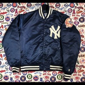 New York Yankees Satin Starter Jacket⚾️